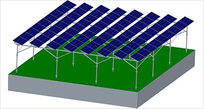 ソーラーシェアリング用架台